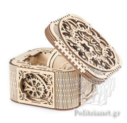 TREASURE BOX (ΚΟΥΤΙ ΘΗΣΑΥΡΟΥ) // UGEARS MECHANICAL MODELS