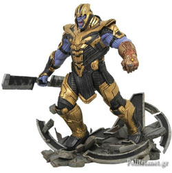 AVENGERS END GAME: ARMORED THANOS STATUE // MARVEL MILESTONE