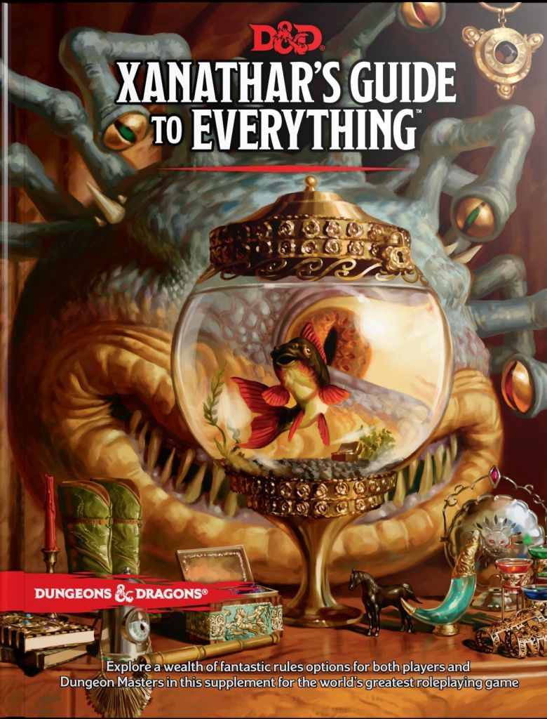 (H/B) DUNGEONS AND DRAGONS: XANATHAR'S GUIDE TO EVERYTHING