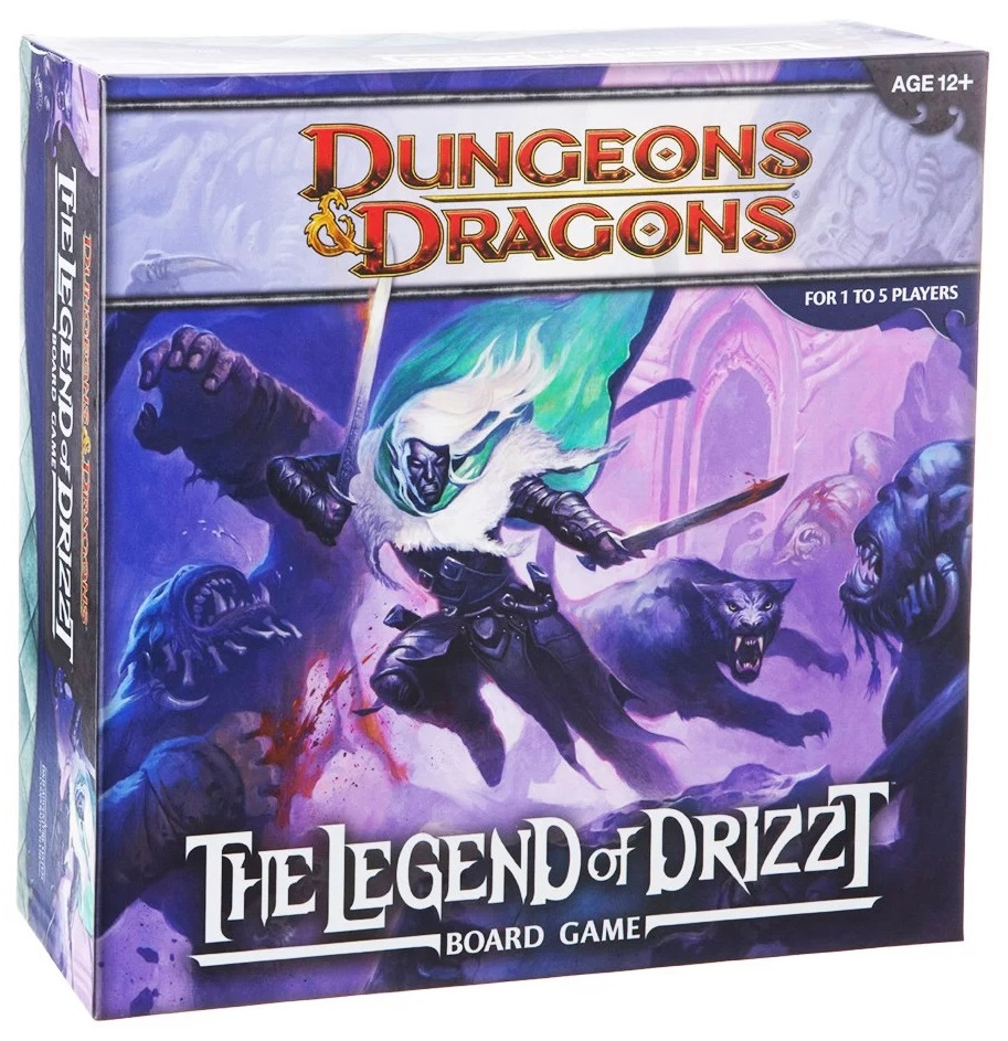 LEGEND OF DRIZZT BOARD GAME // ΕΠΙΤΡΑΠΕΖΙΟ ΠΑΙΧΝΙΔΙ ΦΑΝΤΑΣΙΑ