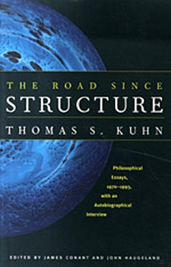 (P/B) THE ROAD SINCE STRUCTURE // PHILOSOPHICAL ESSAYS, 1970