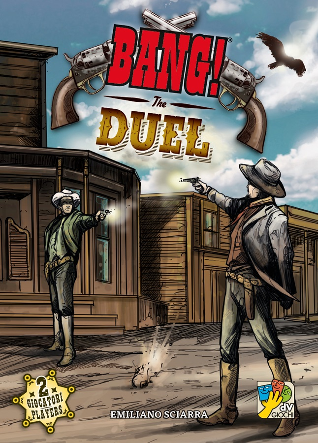 BANG! THE DUEL  // ΕΠΙΤΡΑΠΕΖΙΟ ΠΑΙΧΝΙΔΙ ΠΑΡΕΑΣ, [2 ΠΑΙΚΤΕΣ]