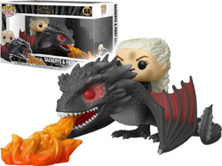 GAME OF THRONES - DAENERYS ON FIERY DROGON #68 // FUNKO POP