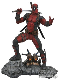 DEADPOOL STATUE // MARVEL PREMIERE COLLECTION