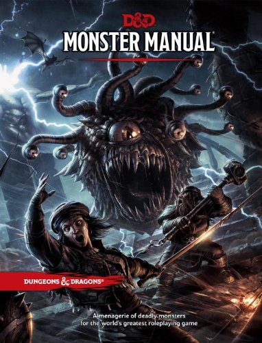 (H/B) DUNGEONS AND DRAGONS MONSTER MANUAL