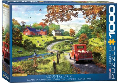 DAVISON: COUNTRY DRIVE // 1000 PIECE PUZZLE