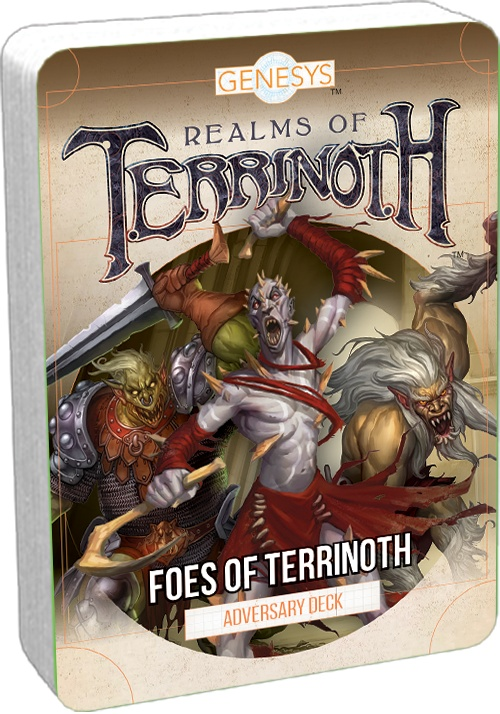ROLE PLAYING GAME - GENESYS - FOES OF TERRINOTH DECK