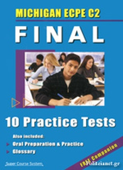 NEW MICHIGAN ECPE C2 FINAL (+COMPANION) // 10 PRACTICE TESTS