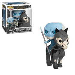 GAME OF THRONES - MOUNTED WHITE WALKER ON HORSE #60 // FUNKO