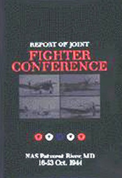 (P/B) REPORT OF JOINT FIGHTER CONFERENCE // NAS PATUKENT RIV