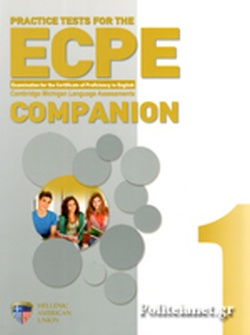 PRACTICE TESTS FOR THE ECPE 1 COMPANION // EXAMINATION FOR T