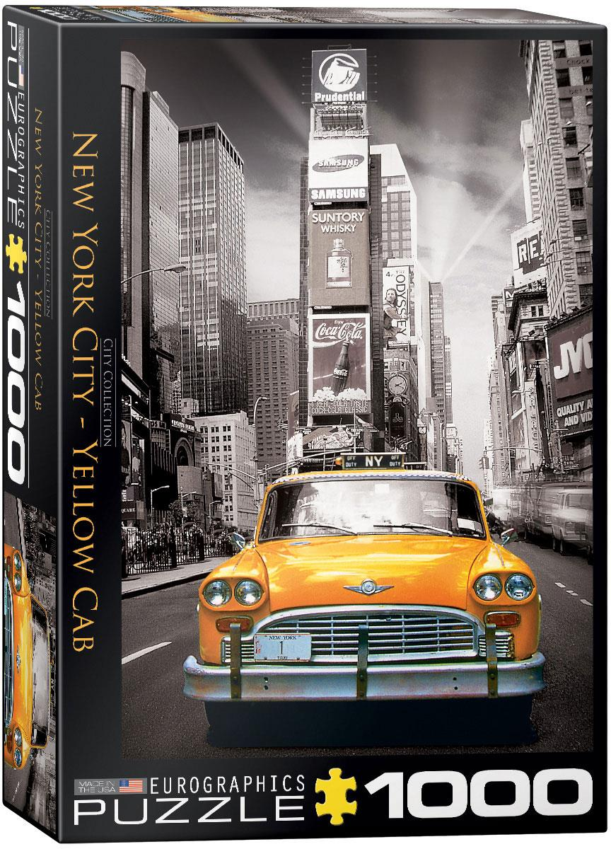 NEW YORK CITY YELLOW CAB // 1000 PIECE PUZZLE