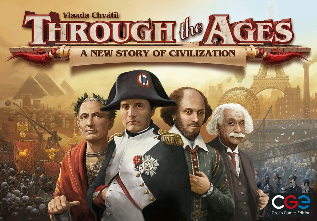 THROUGH THE AGES: A NEW STORY OF CIVILIZATION // ΕΠΙΤΡΑΠΕΖΙΟ