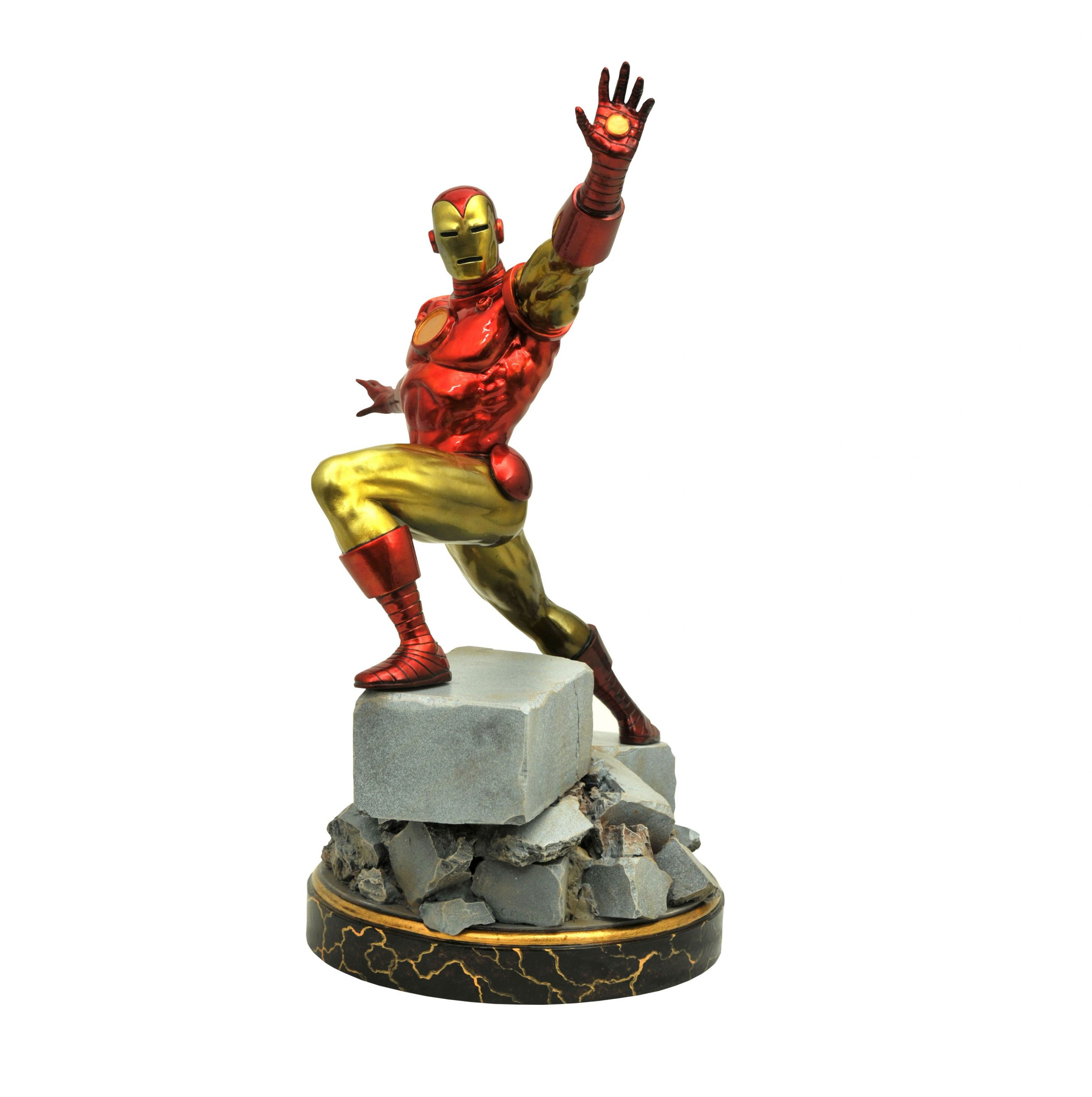 MARVEL PREMIERE COLLECTION IRON-MAN RESIN STATUE // MARVEL G