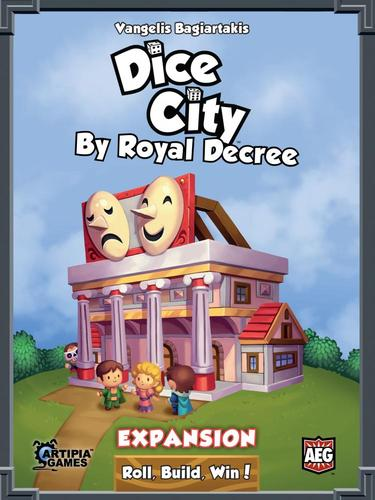 DICE CITY: BY ROYAL DECREE // EXPANSION FOR DICE CITY - ΕΠΙΤ