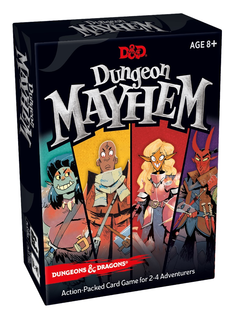 DUNGEONS & DRAGONS RPG - DUNGEON MAYHEM // ΕΠΙΤΡΑΠΕΖΙΟ ΠΑΙΧΝ