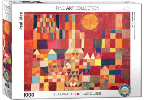 CASTLE AND SUN BY PAUL KLEE // 1000 PIECE PUZZLE