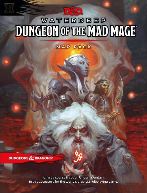 DUNGEONS & DRAGONS RPG - WATERDEEP: DUNGEON OF THE MAD MAGE