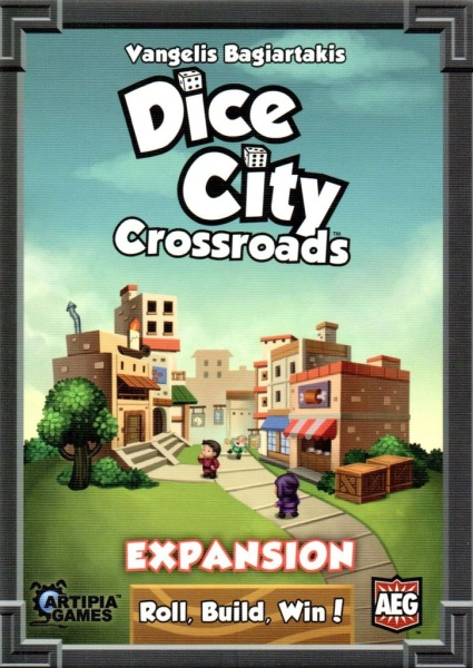 DICE CITY: CROSSROADS // EXPANSION FOR DICE CITY - ΕΠΙΤΡΑΠΕΖ