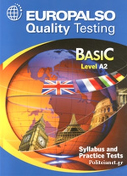 EUROPALSO - BASIC LEVEL A2 // QUALITY TESTING - SYLLABUS A