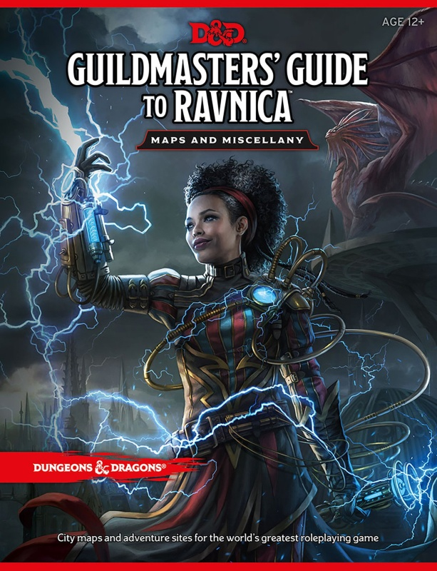 DUNGEONS & DRAGONS - GUILDMASTER'S GUIDE ΤΟ RAVNICA MAP