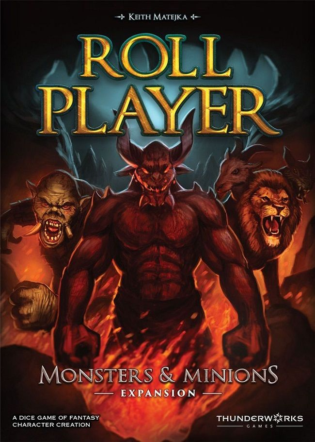 ROLL PLAYER: MONSTERS AND MINIONS // ΕΠΙΤΡΑΠΕΖΙΟ ΠΑΙΧΝΙΔΙ ΣΤ