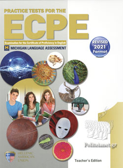 (2021) (TCHR΄S) PRACTICE TESTS FOR THE ECPE BOOK 1 (+CDS)