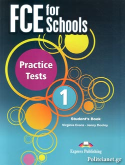FCE FOR SCHOOLS 1 PRACTICE TESTS (+CD DOWNLOADABLE) // STUDE