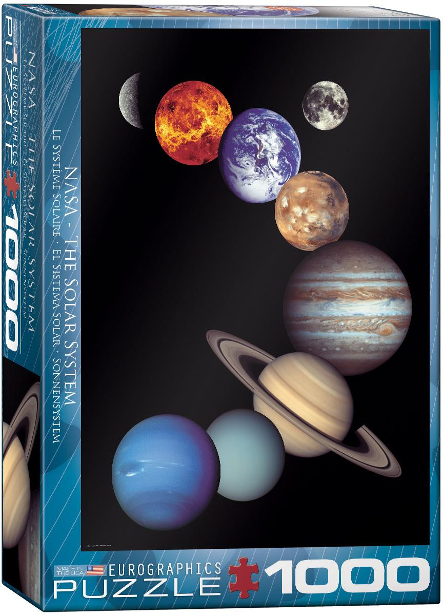 NASA THE SOLAR SYSTEM // 1000 PIECE PUZZLE