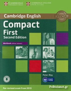 CAMBRIDGE ENGLISH COMPACT FIRST // WORKBOOK WITHOUT ANSWERS