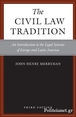 (P/B) THE CIVIL LAW TRADITION // AN INTRODUCTION TO THE LEGA