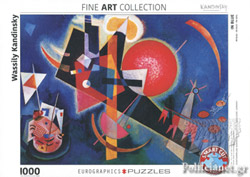 IN BLUE BY KANDINSKY // 1000 PIECE PUZZLE