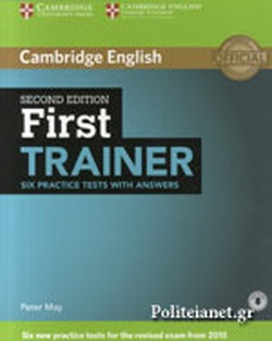 CAMBRIDGE ENGLISH FIRST TRAINER (2015) // WITH ANSWERS SIX P