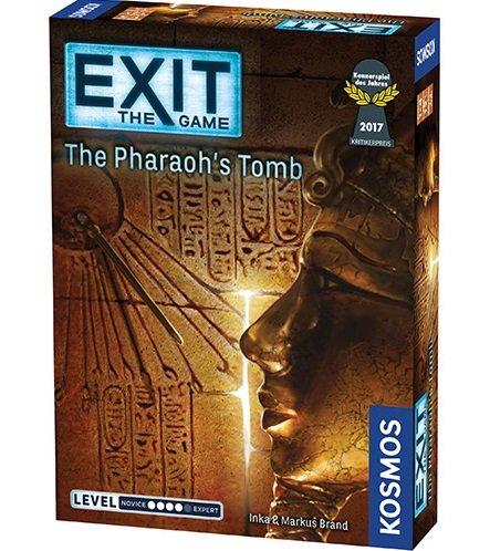 EXIT: THE PHARAOH'S TOMB // ΕΠΙΤΡΑΠΕΖΙΟ ΠΑΙΧΝΙΔΙ ΠΑΡΕΑΣ, [1