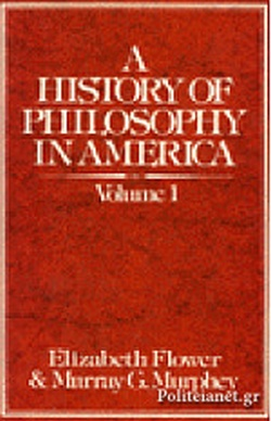SET A HISTORY OF PHILOSOPHY IN AMERICA