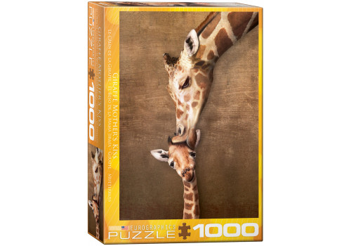 GIRAFFE MOTHER΄S KISS // 1000 PIECE PUZZLE