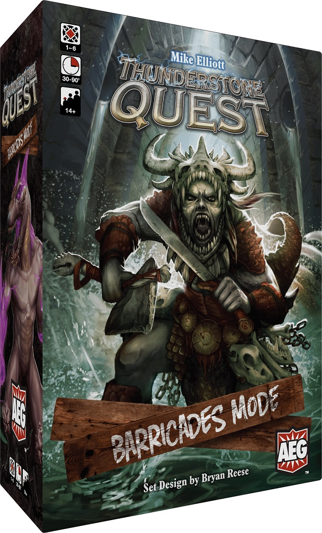 THUNDERSTONE QUEST: BARRICADES MODE // ΕΠΙΤΡΑΠΕΖΙΟ ΠΑΙΧΝΙΔΙ