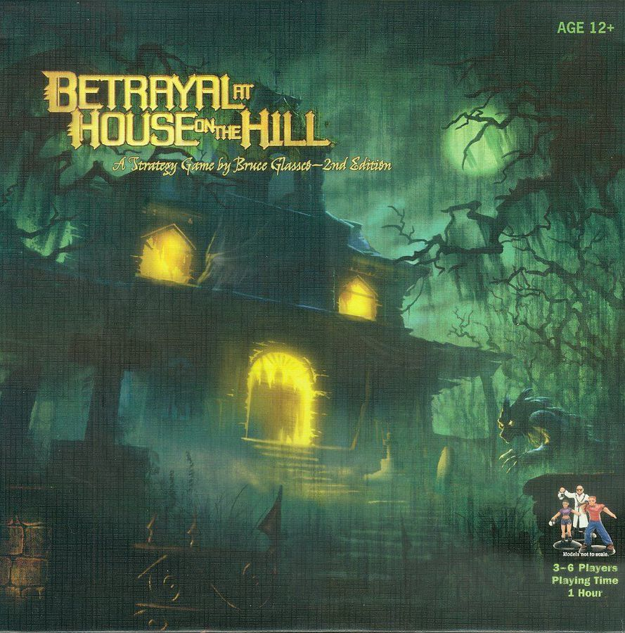 BETRAYAL AT HOUSE ON THE HILL // ΕΠΙΤΡΑΠΕΖΙΟ ΠΑΙΧΝΙΔΙ ΠΑΡΕΑΣ
