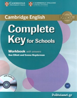 COMPLETE KEY FOR SCHOOLS (+CD) // WORKBOOK WITH ANSWERS