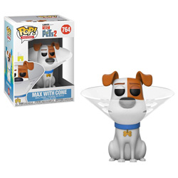 THE SECRET LIFE OF PETS 2 - MAX IN CONE #764 // FUNKO POP
