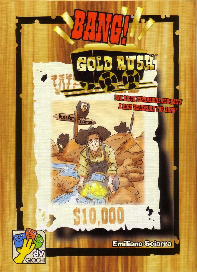 BANG! GOLD RUSH // ΕΠΙΤΡΑΠΕΖΙΟ ΠΑΙΧΝΙΔΙ ΠΑΡΕΑΣ, [4-7 ΠΑΙΚΤΕΣ