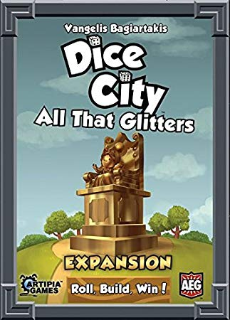 DICE CITY: ALL THAT GLITTERS // EXPANSION FOR DICE CITY - ΕΠ