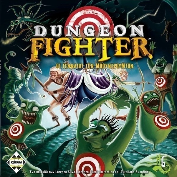 DUNGEON FIGHTER (GR) // ΕΠΙΤΡΑΠΕΖΙΟ ΠΑΙΧΝΙΔΙ ΠΑΡΕΑΣ, [1-6 Π