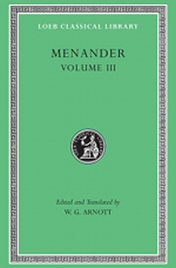 (H/B) V.III MENANDER ( LOEB CLASSICAL LIBRARY 460 )