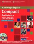 CAMBRIDGE ENGLISH COMPACT PRELIMINARY FOR SCHOOLS (+CD-ROM)