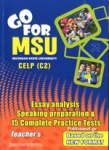GO FOR MSU CELP C2 (+100 EXTRA GRAMMAR ITEMS), 15 COMPLETE PRACTICE TESTS