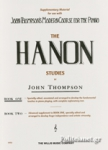 THE HANON STUDIES (BOOK ONE)