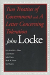 (P/B) TWO TREATISES OF GOVERNMENT AND A LETTER CONCERNING TOLERATION