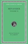 (H/B) MENANDER (VOLUME II)