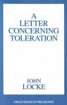 (P/B) A LETTER CONCERNING TOLERATION